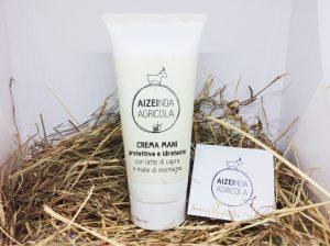 Crema per le mani al latte di capra AiZei