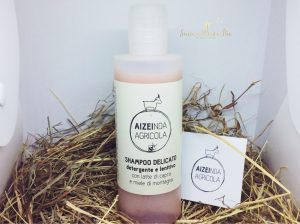 Shampoo naturale con latte di capra AiZei